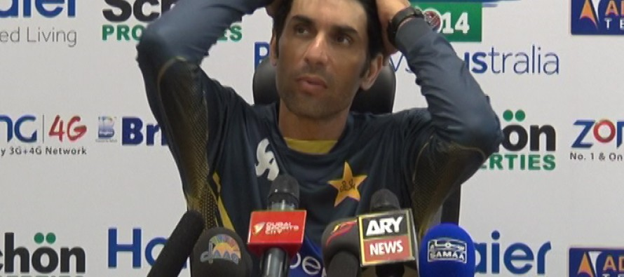 Misbah creating the Pyramid effect for Pakistan