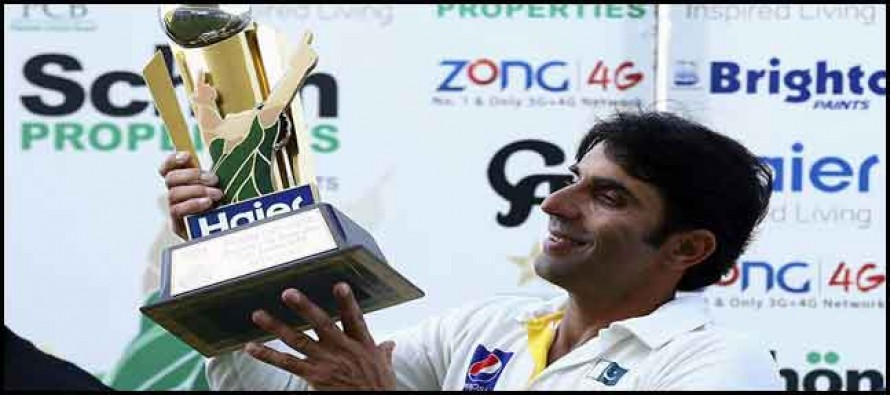 Magical Misbah does the trick
