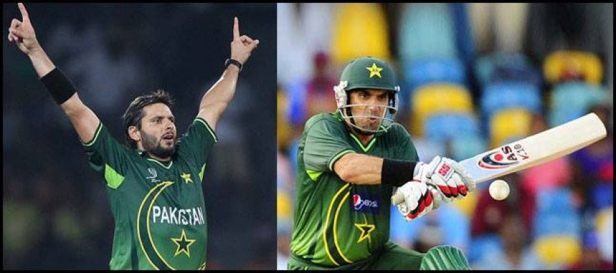 Misbah staying with the team to avoid captaincy confusion