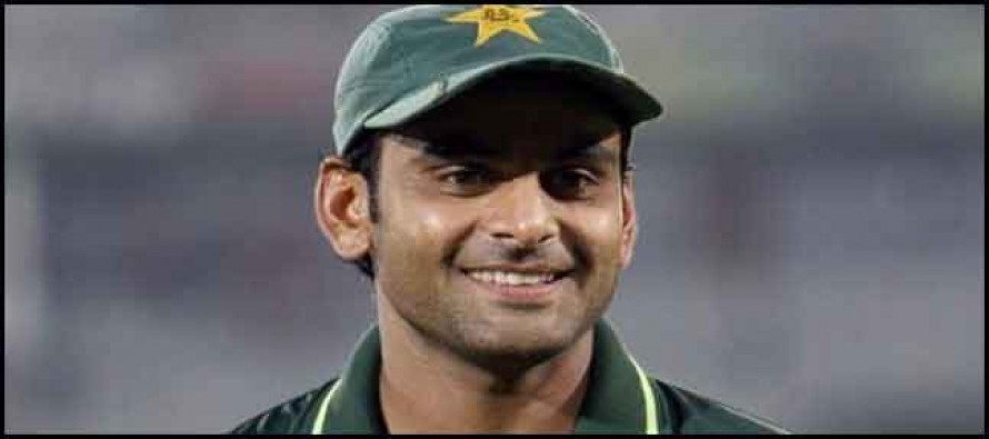 Hafeez's unofficial test shows positive signs
