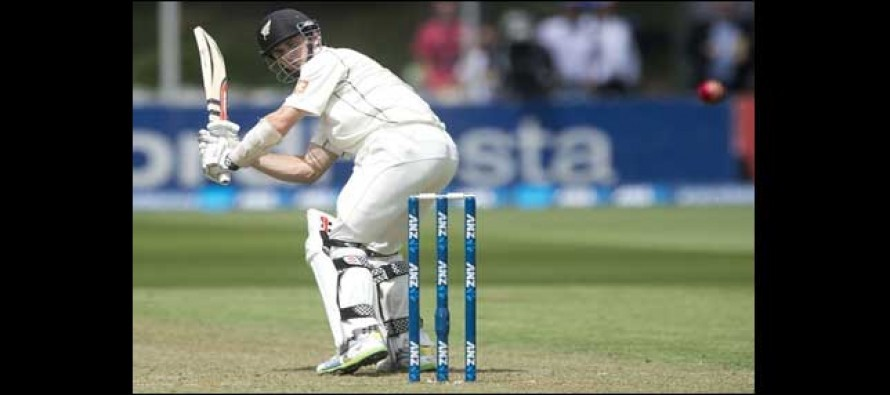 Gritty Williamson fights to keep New Zealand alive