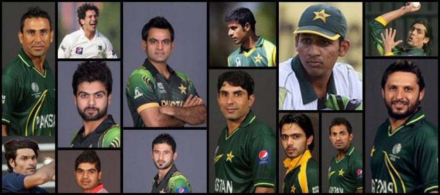 Probable Team Pakistan for World Cup 2015