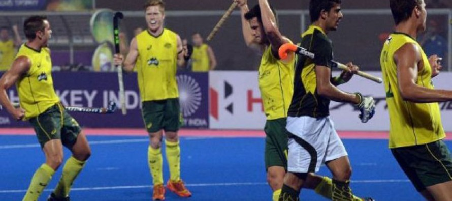Hobart International Challenge: Australia thrash Pakistan 5-0