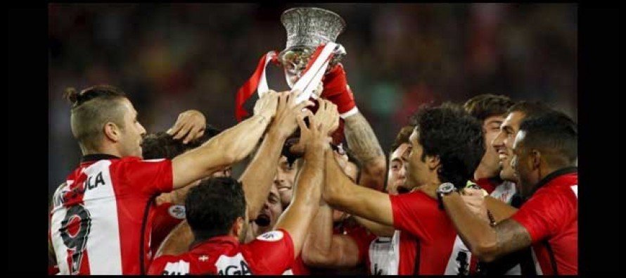 Athletic Bilbao hold off Barcelona to claim Spanish Super Cup