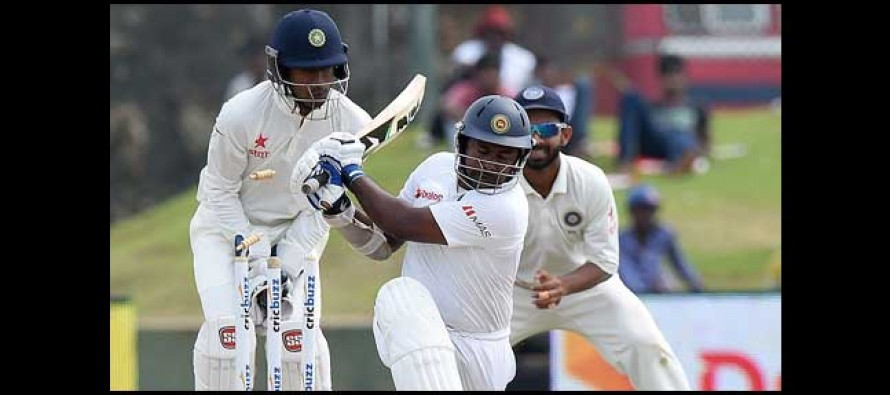 Galle Test: India 128/2 at stumps