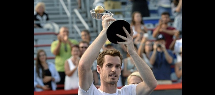 Murray wins Montreal Masters as coach Mauresmo gives birth