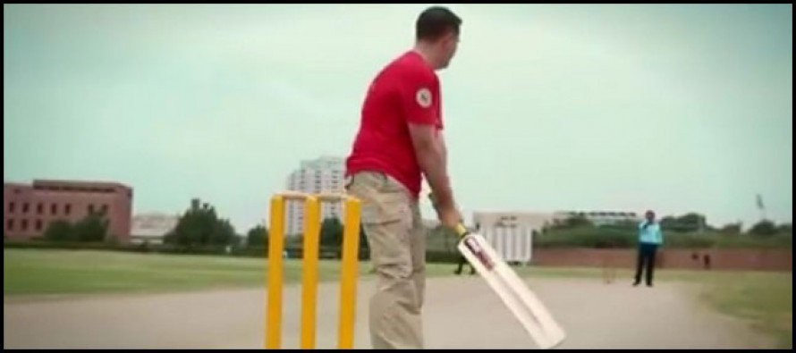 U.S. diplomats have their first cricket lesson
