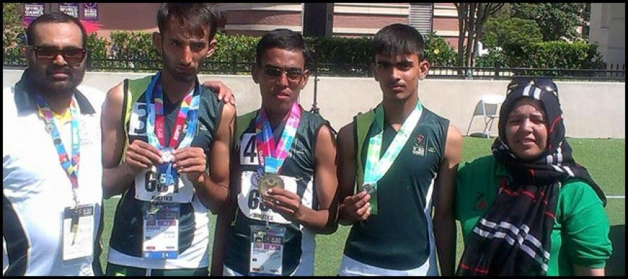 Pakistan win 33 medals in Special Olympics 2015
