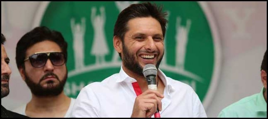 Afridi advises PCB regarding accused players