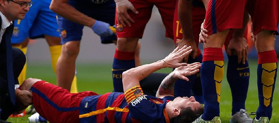La Liga: Messi out for two months as Villareal go top