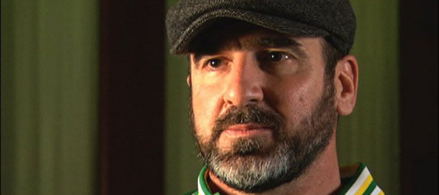 Ex-football star Cantona promises to house, feed refugees