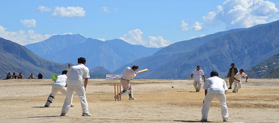 British Cricket Team's Tour of Chitral