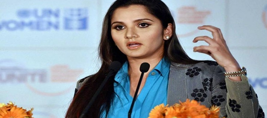 Sania gives useful fitness tips to youngsters