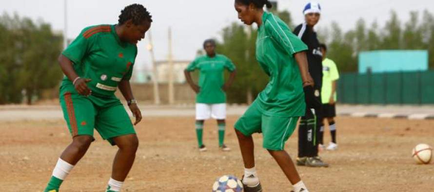 Sudan women footballers strive to build national team