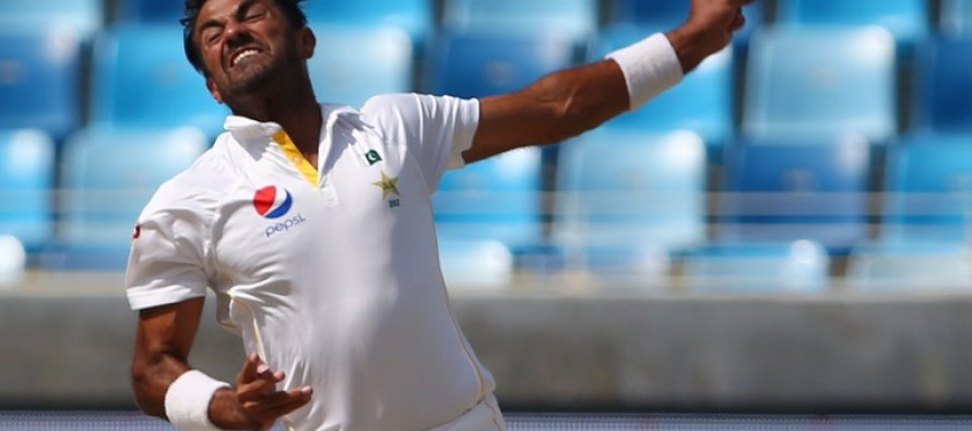 English claims of ball tempering against Wahab