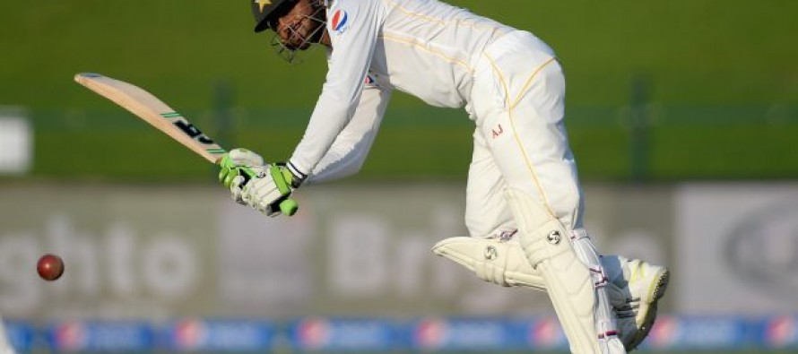 Pakistan 389-4 at lunch in first Test