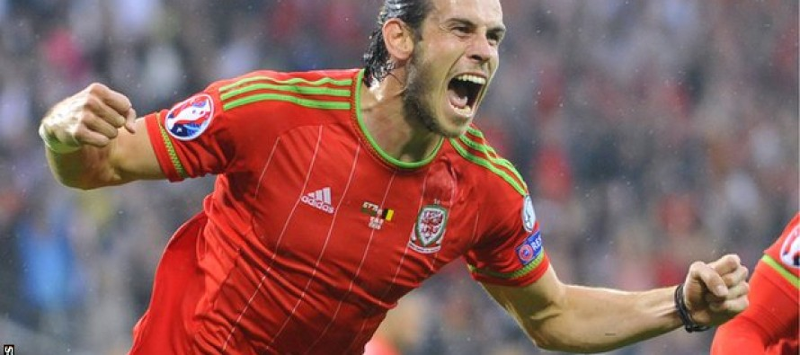 Bale voted Welsh player of the year for record fifth time