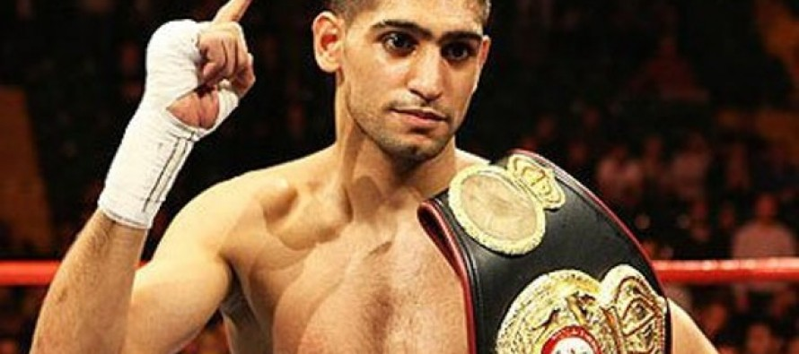 Amir khan may fight Many Pacquiao