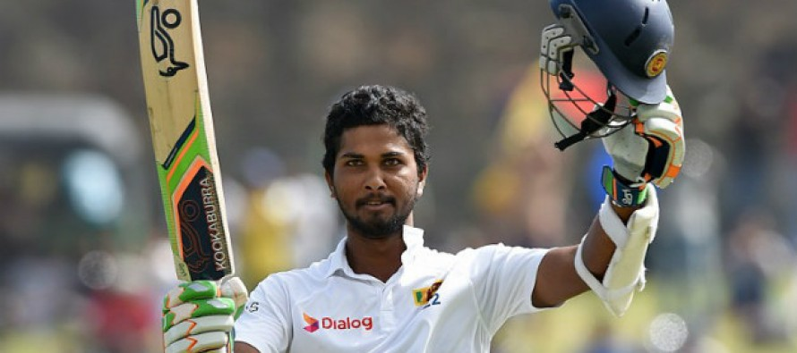 Sri Lanka innings close for 484 in first Test