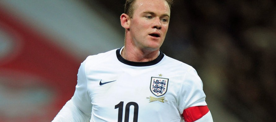 Record man Rooney honoured by England
