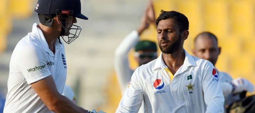 Pakistan Draw 1st Test After Nerve Racking Finale