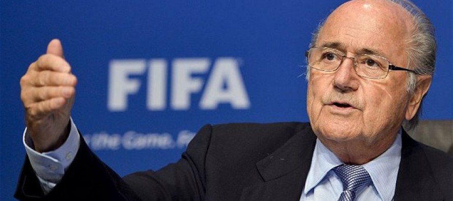 Blatter rules out resigning before FIFA election