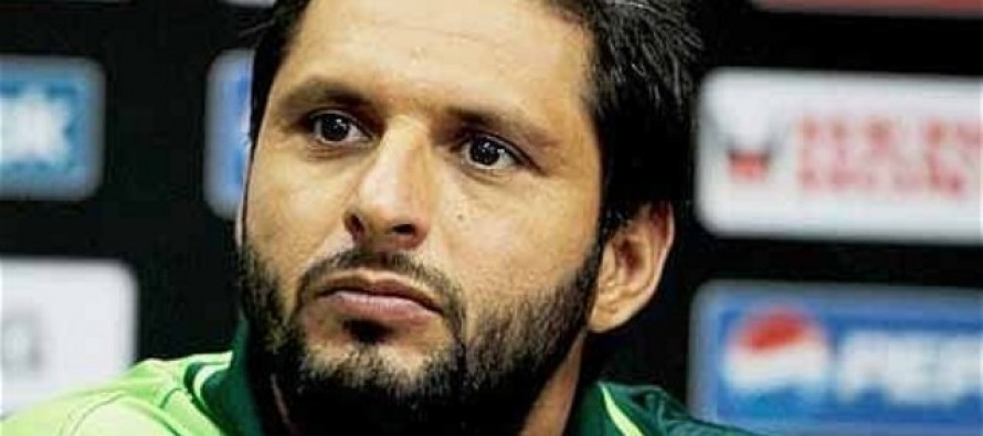 Afridi's recommendation for future test captain