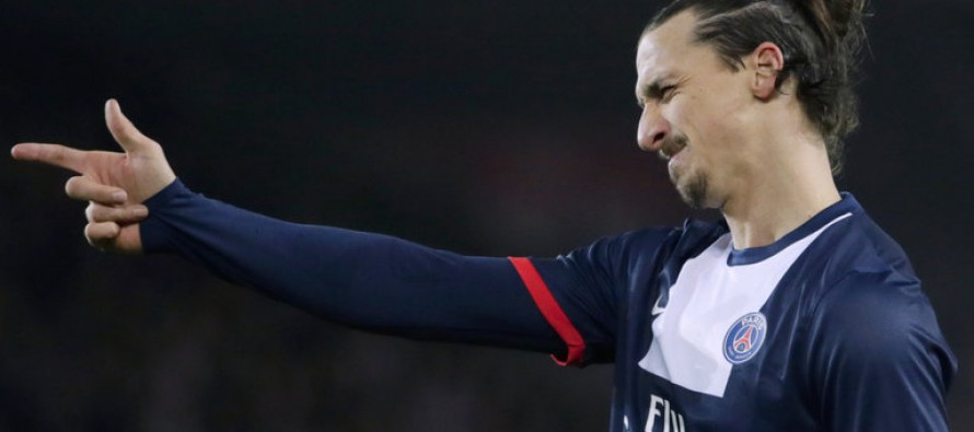 Ibrahimovic breaks PSG goal record
