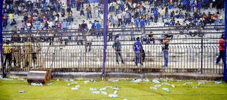 Cricket-Indian board seeks report from state unit on crowd trouble
