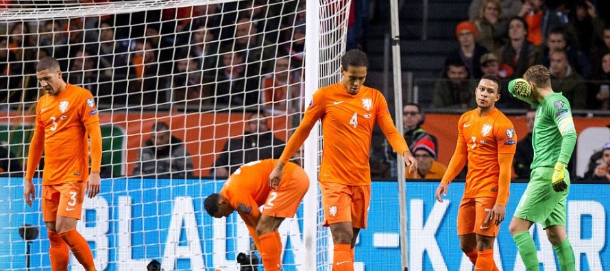 Dark day for Dutch fans who fear the future