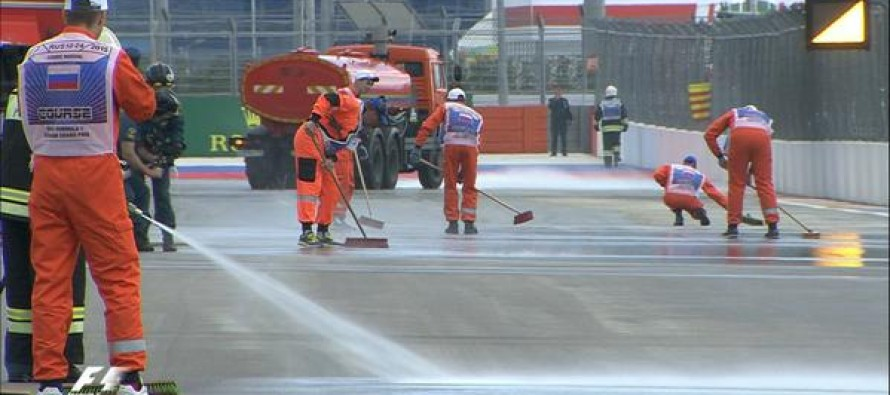 Diesel spillage delays and reduces opening practice