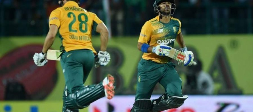 South Africa's emphatic win and twitter reaction