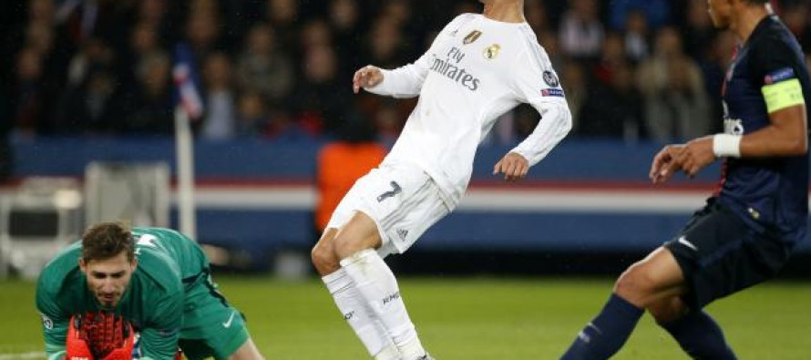 Honours even as PSG, Real play out goalless draw