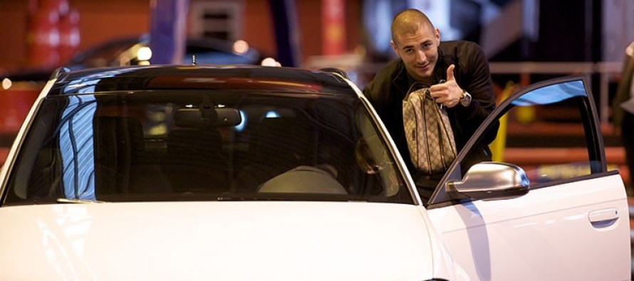 Benzema caught driving without a valid licence