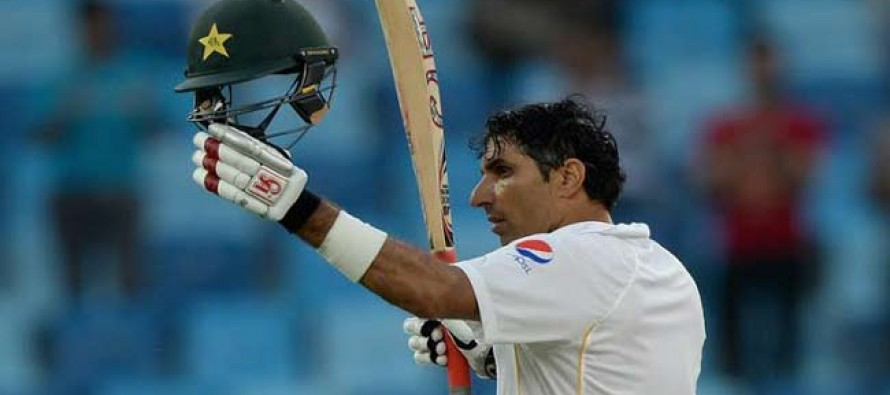 Misbah's Century Leads The Way