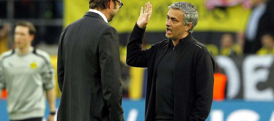 Besieged Mourinho faces former nemesis Klopp