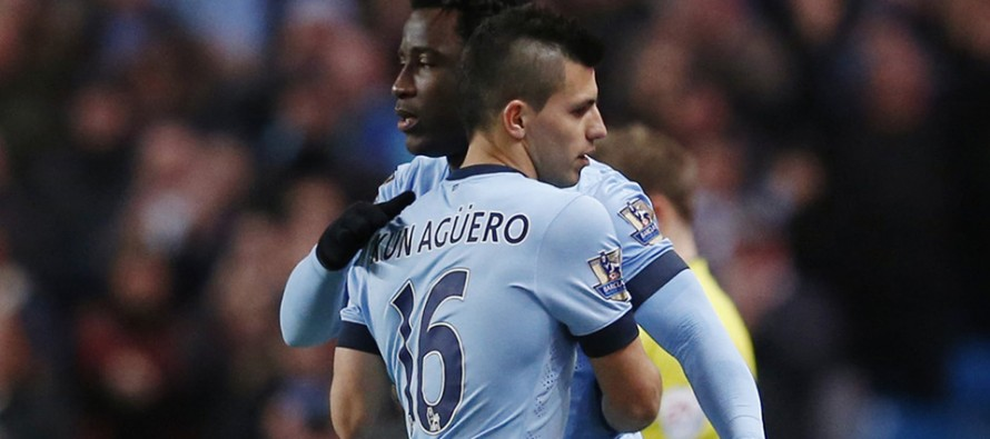 Bony promises to fill the void in Aguero's absence