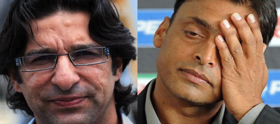 Wasim and Shoaib to return home after 4th ODI