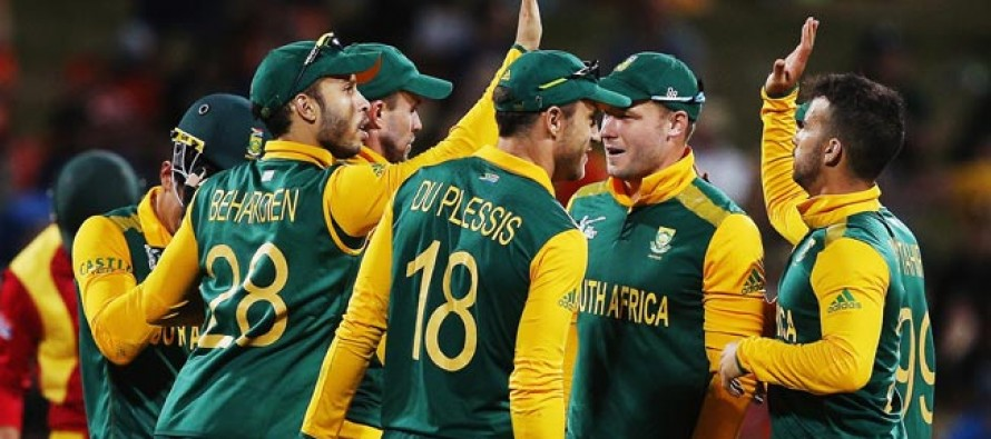 South Africa win batting thriller against India