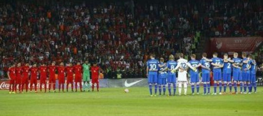 Minute of silence jeers mar Turkey's Euro 'miracle'