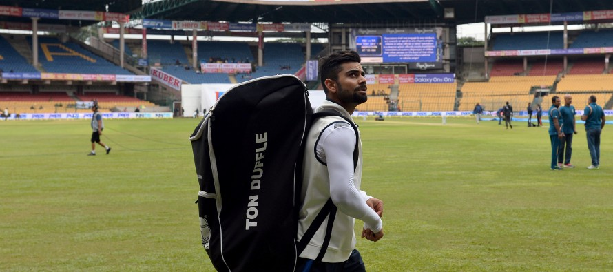 India's Kohli frustrated by South Africa Test wash-out