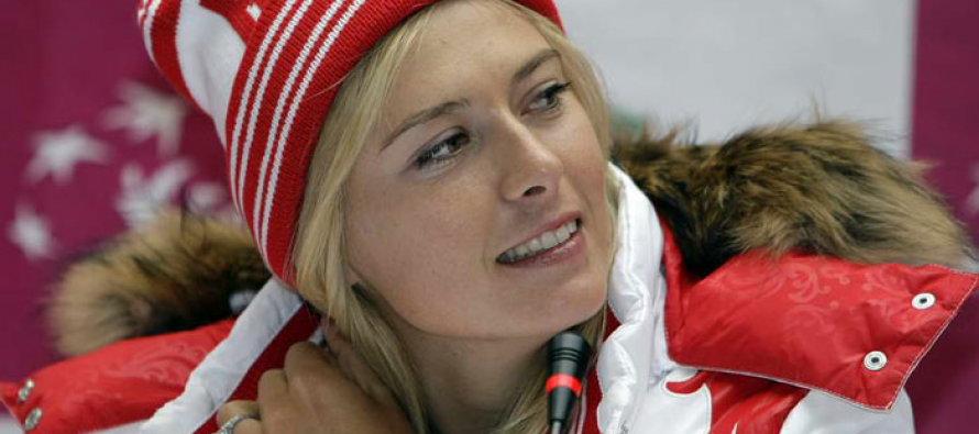 'Unique' patriotic chore for team player Sharapova