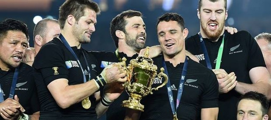 RugbyU: Kiwis party at Twickenham after World Cup win