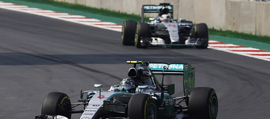 Rosberg grabs consolation win in Mexico