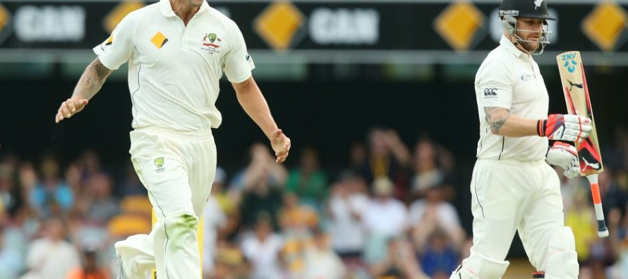 New Zealand all out for 317 in 1st Test