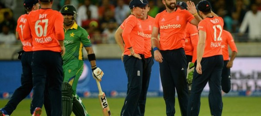 England down Pakistan in thriller to take Twenty20 series