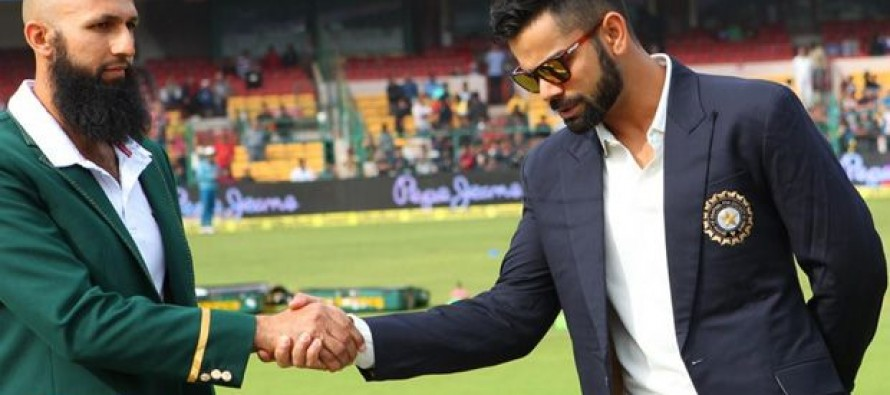 India win toss, bat in third South Africa Test