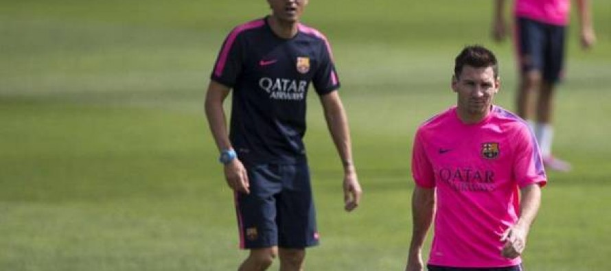 Barca coach to take late decision over Messi fitness