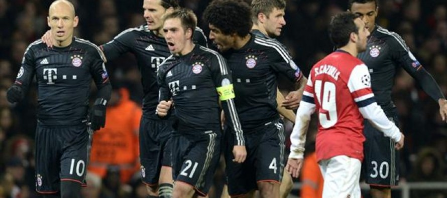 Bayern hammer Arsenal as Chelsea secure welcome win