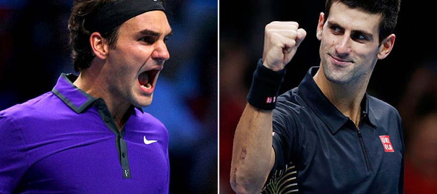 Champ Djokovic to face Federer at Tour Finals